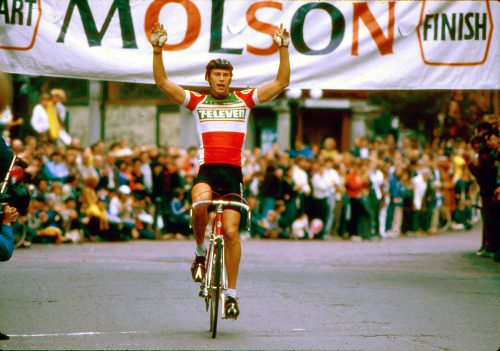 Ron Hayman won a record three Gastown Grand Prix races as a member of the great 7-Eleven team in 1981-1983. (Photo by Dave Mendenhall)