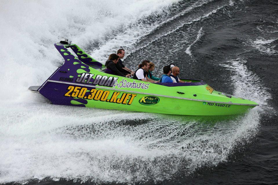 Kelowna Jet Boat Adventures / Facebook