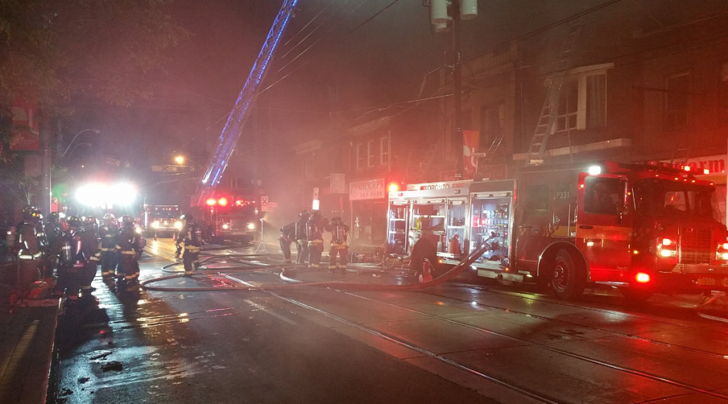Toronto Fire Dundas West