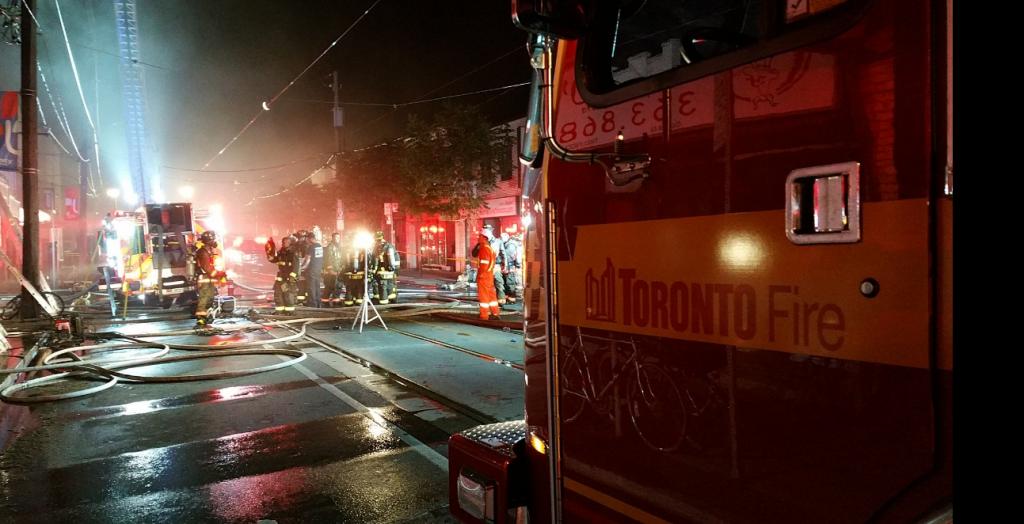 Toronto Fire Dundas Street West