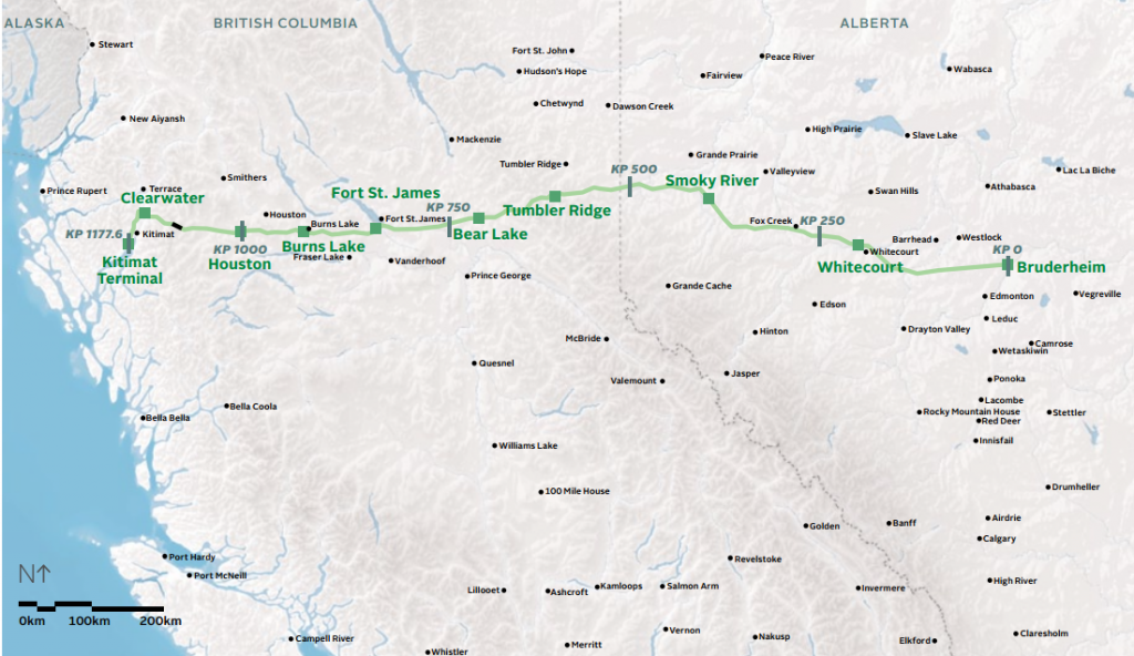 Proposed-Northern-Gateway-Pipeline-route