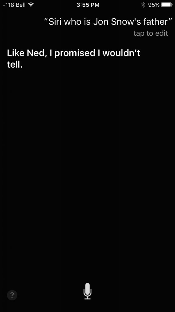 Siri Jon Snow