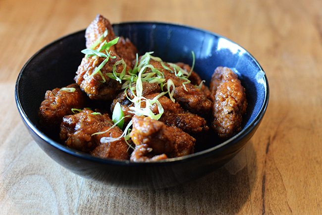 Free-range chicken wings (Jess Fleming/Daliy Hive)
