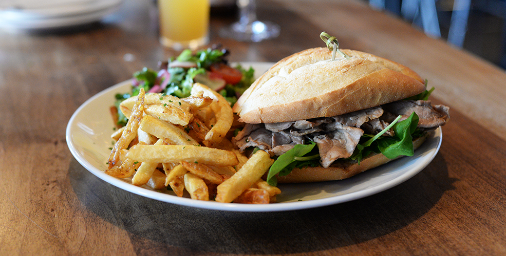 The cascade room vancouver sandwich