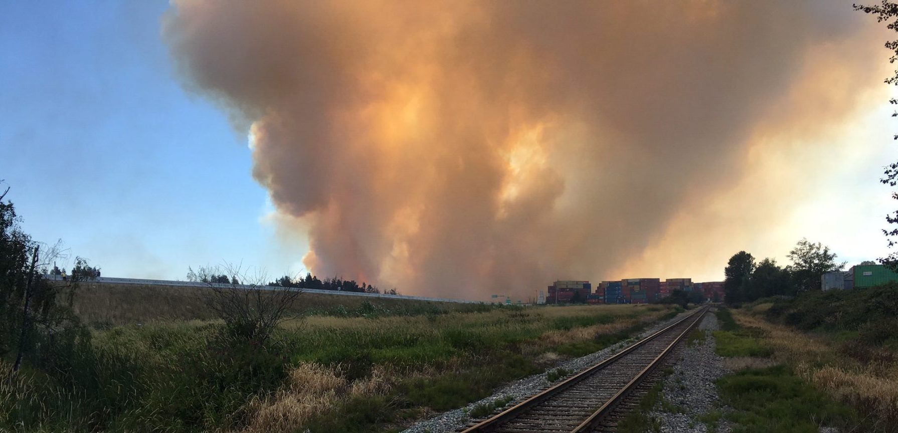 "Burns Bog fire update: ""We are under provincial emergency status right now"""