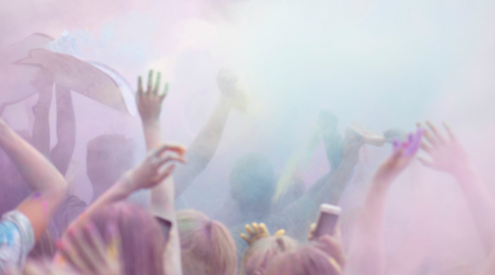 Montreal largest paint party is happening this week