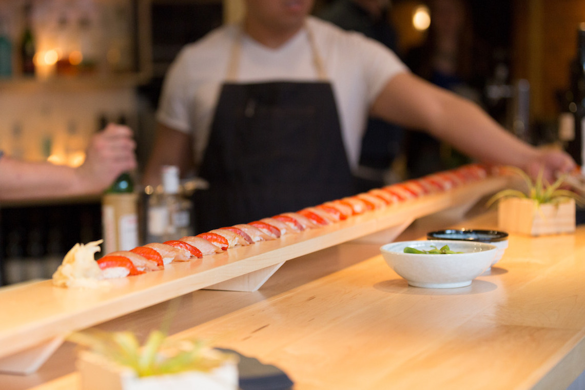 Sushi at Ono Raw Bar in Gastown (Ono Raw Bar)