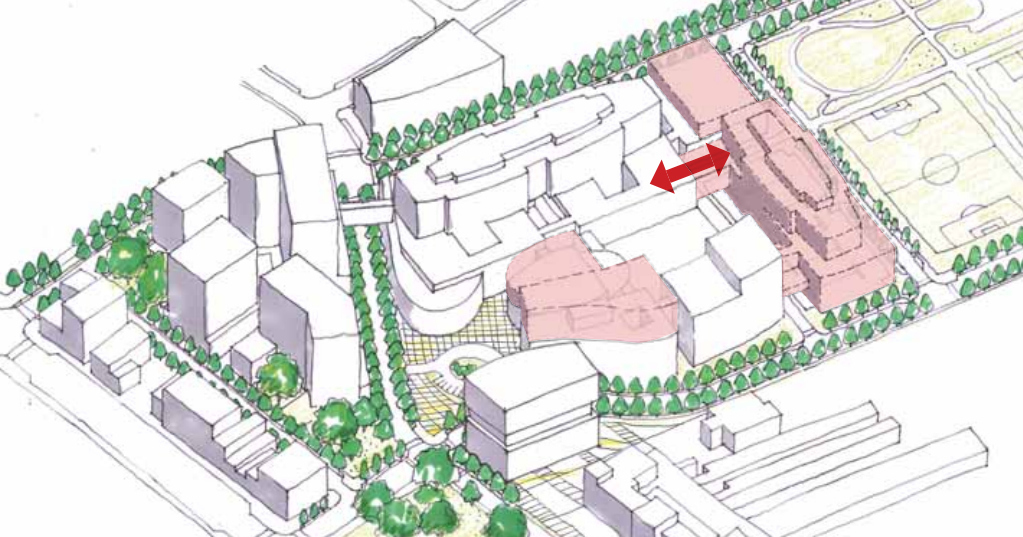 Two concepts considered for new St  Paul's Hospital at False