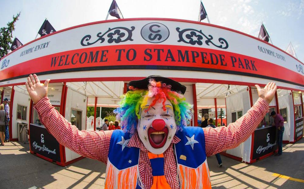 Welcome to stampede park