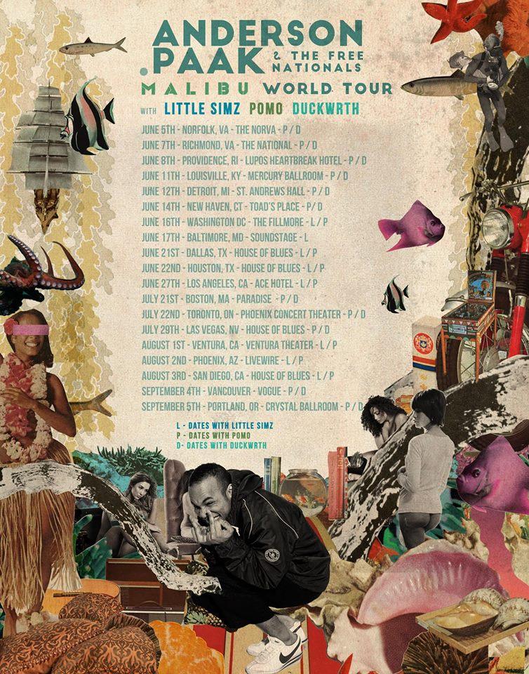 Pomo tour schedule 2016