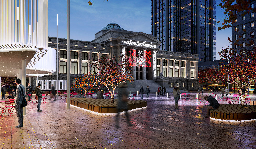 City Council approves Vancouver Art Gallery plaza redesign