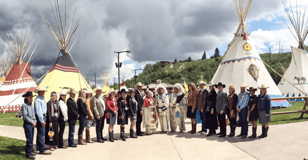 Sweetgrass Lodge is now open on Stampede grounds