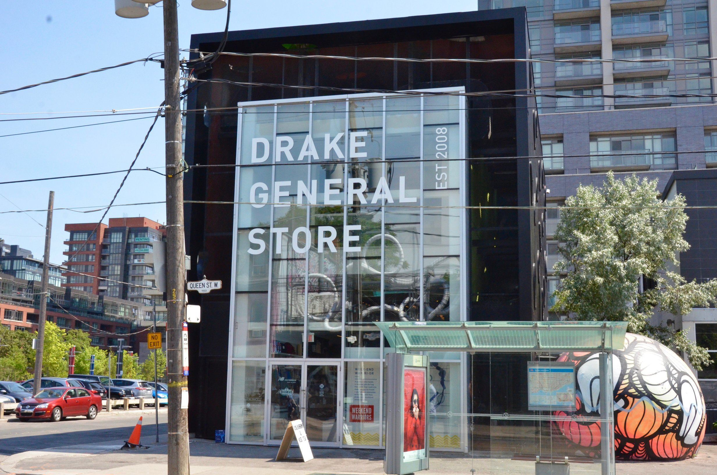 Inside the brand new Drake General Store on Queen West