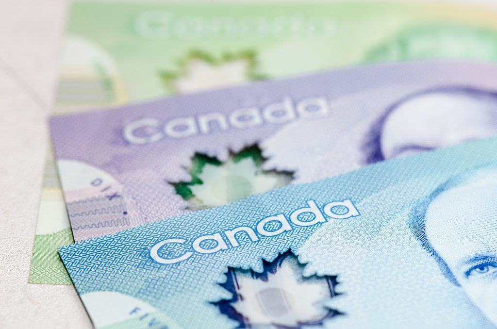 Canadian money / KMR Photography