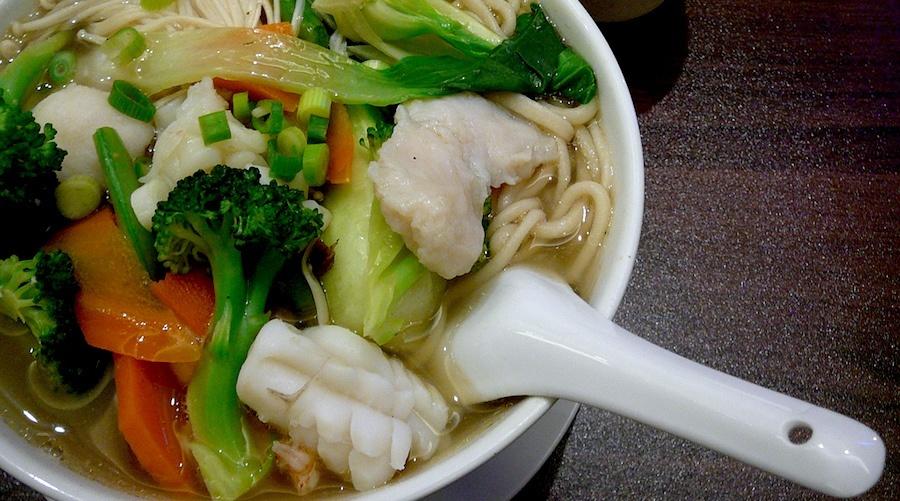 Peaceful restaurant noodles vancouver
