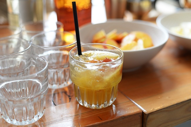 Whiskey Cobbler (Jess Fleming/Daily Hive)