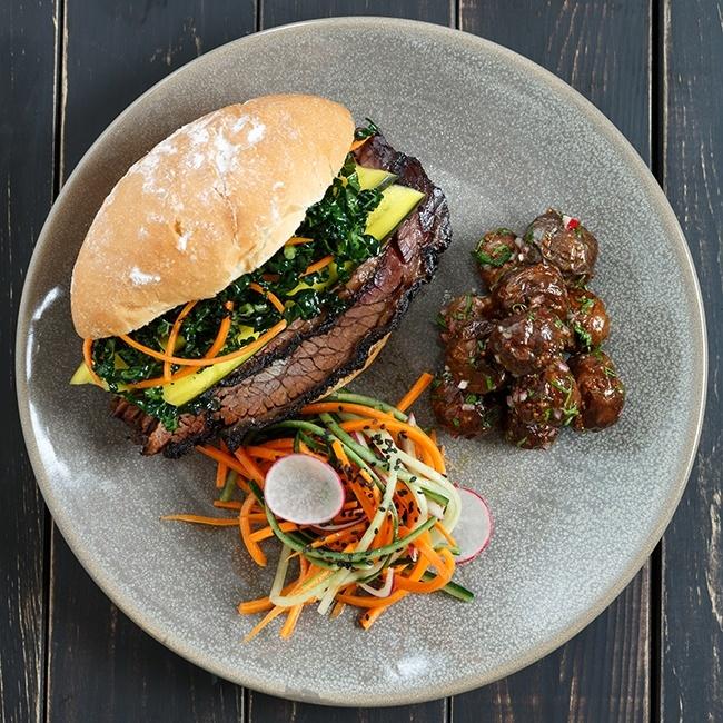 Beef Brisket Sandwich (Jonathon Evans)