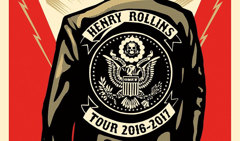 Henry Rollins Calgary 2016 spoken word concert at Jack Singer concert hall