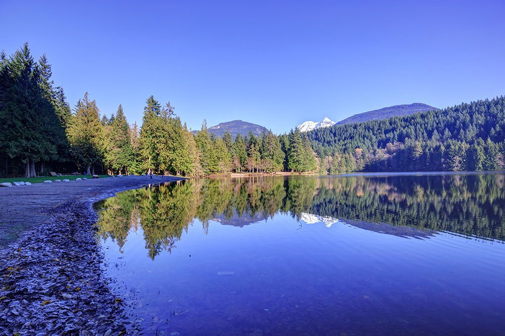 Alice Lake, north of Squamish (Parkbus)