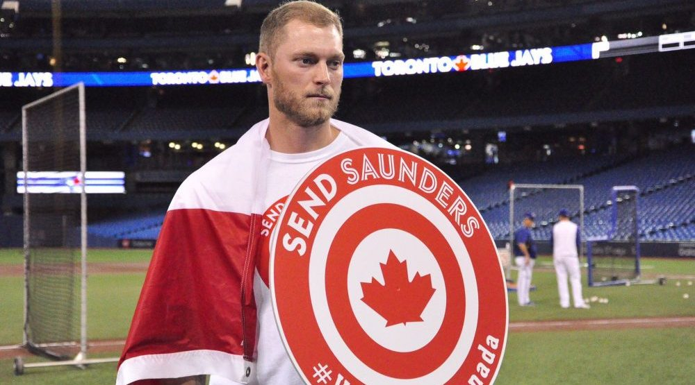 Blue Jays re-sign Canadian Michael Saunders to minor league deal