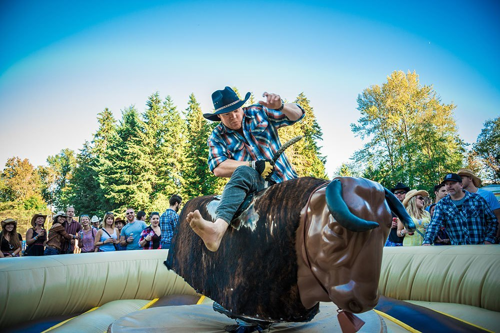 Some of the action from Unbuckled 2015 (Unbuckled)
