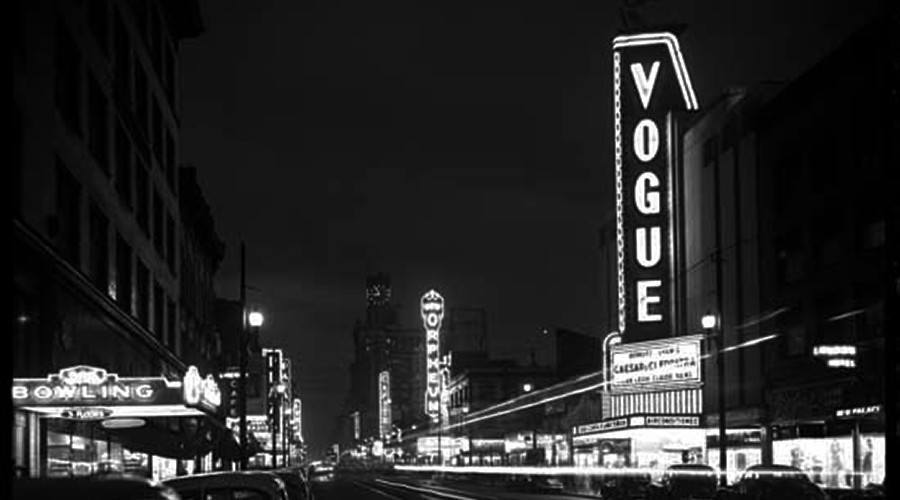 Vogue theatre archive