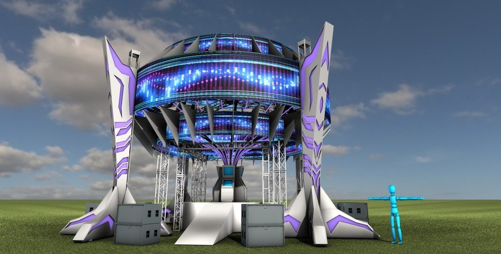 Calgary will soon be home to a giant spaceship, the Bass Ship