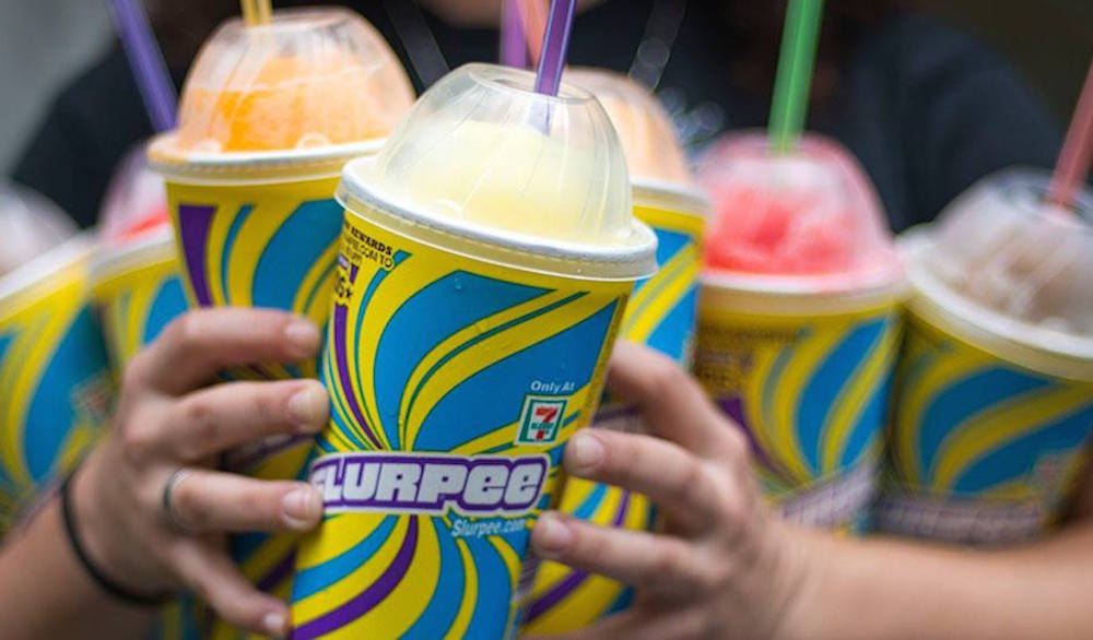 """Free Slurpees for anyone """"backwards"""" enough to celebrate Reverse 7-Eleven Day"""