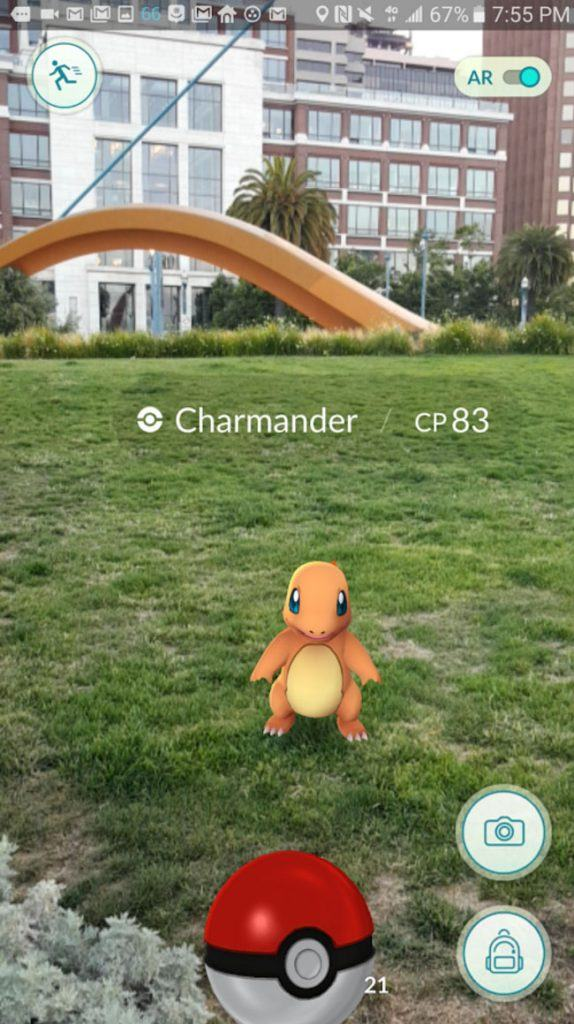 Pokémon GO screenshot (Google Play)