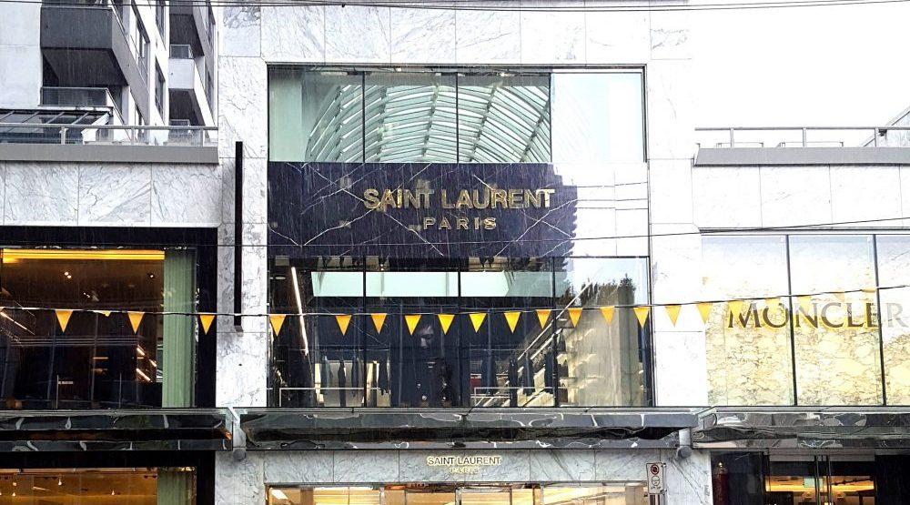 Saint Laurent Paris launches in Vancouver's luxury zone (PHOTOS)
