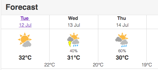 Toronto Heat Warning