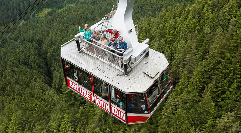 Skyride surf adventure grouse mountain