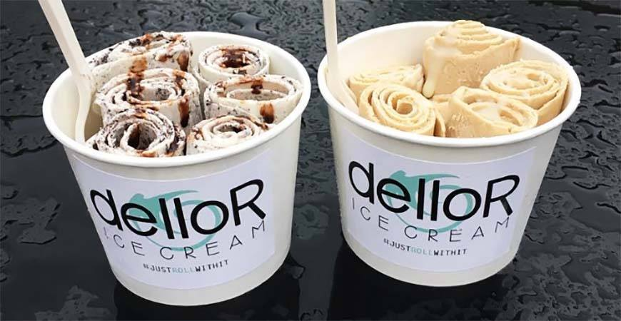 DelloR introduces rolled ice cream to Calgary