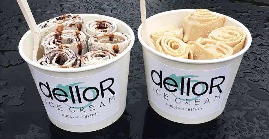 Dellor ice cream instagram