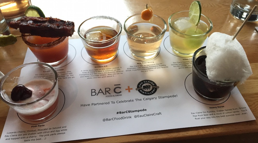 Bar c calgary stampede cocktails feature
