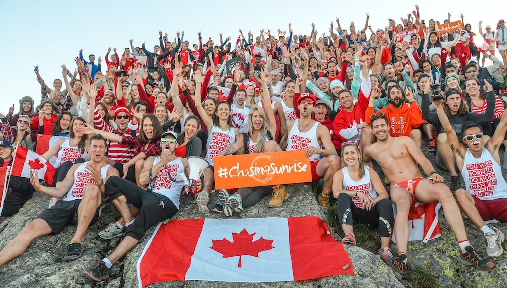 Celebrate Canada Day with an epic sunrise hike on Mount Seymour
