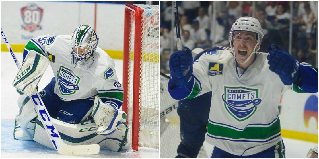 Canucks get expansion draft protection, re-sign Richard Bachman and Mike Zalewski to 1-year extensions