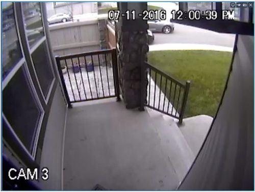 Image: Amber Alert Car / Courtesy The Calgary Police