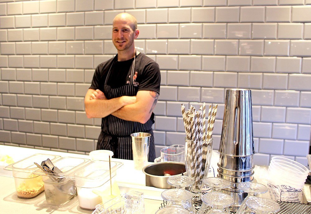Chef Trevor Bird at Fable Diner (Lindsay William-Ross/Daily Hive)