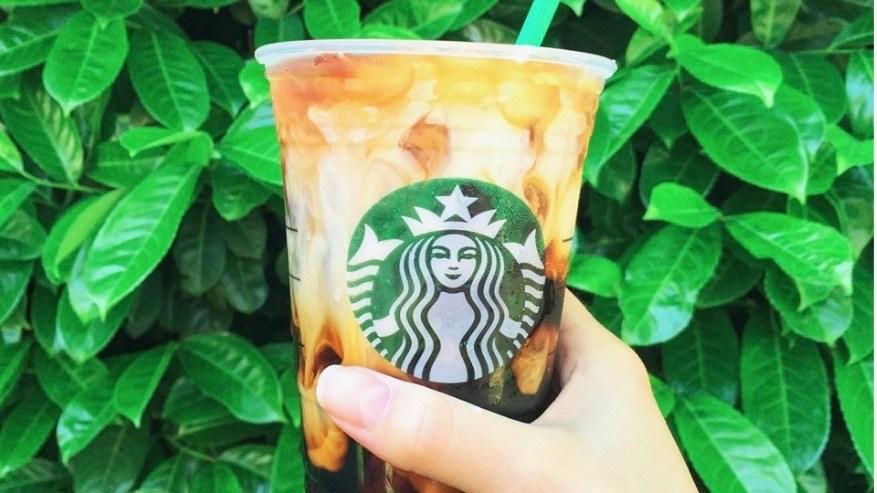Starbucks coaster for lid
