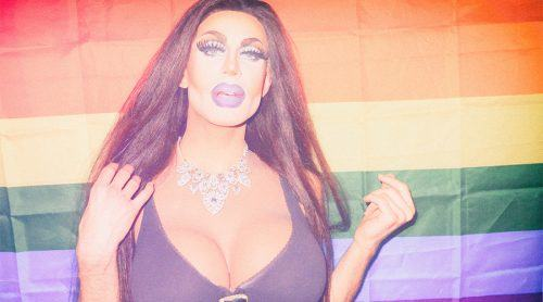 Berlin, Alternative Pride Festival lead queen and festival empress (image: Chase Porter)