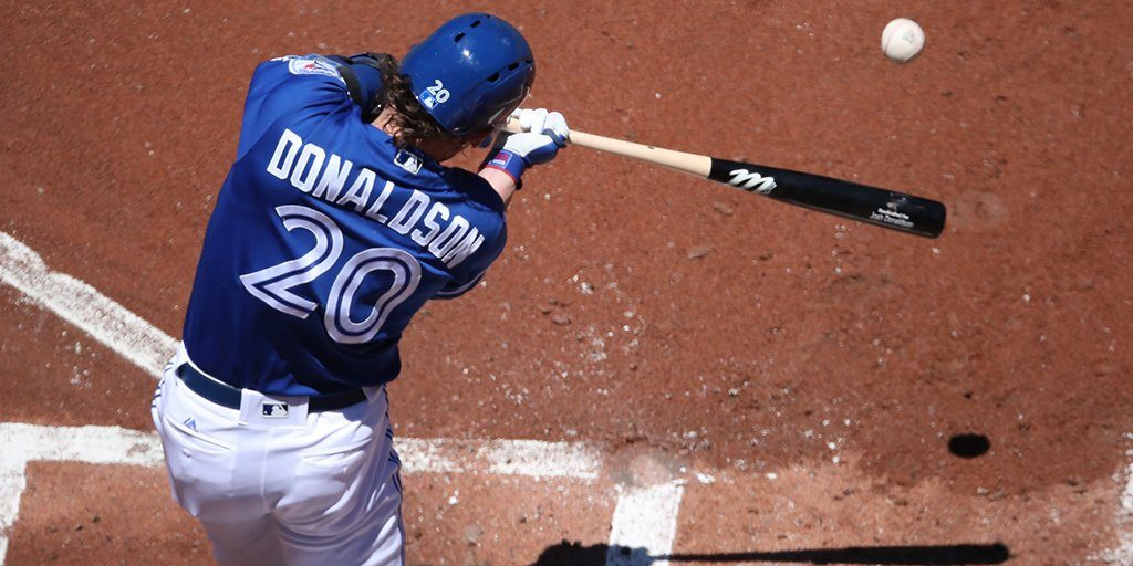 Josh Donaldson's slo-mo swing set to Beethoven is everything (VIDEO)