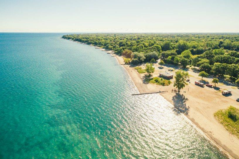Beaches near Toronto
