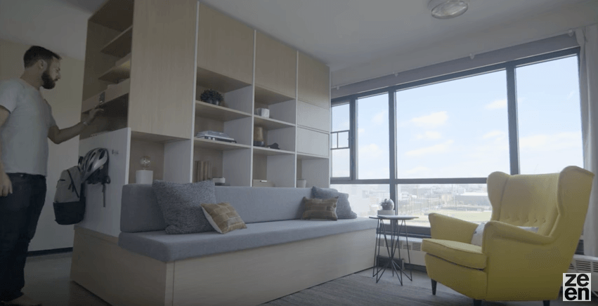 MIT designs moving robotic furniture to make small apartments feel bigger (VIDEO)