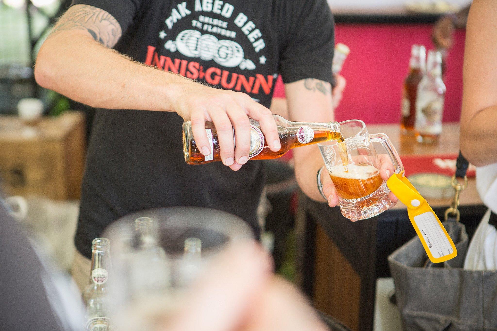 Toronto Festival of Beer Innis and Gunn