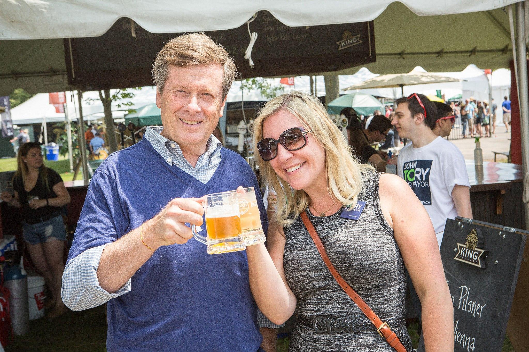 Toronto Festival of Beer John Tory