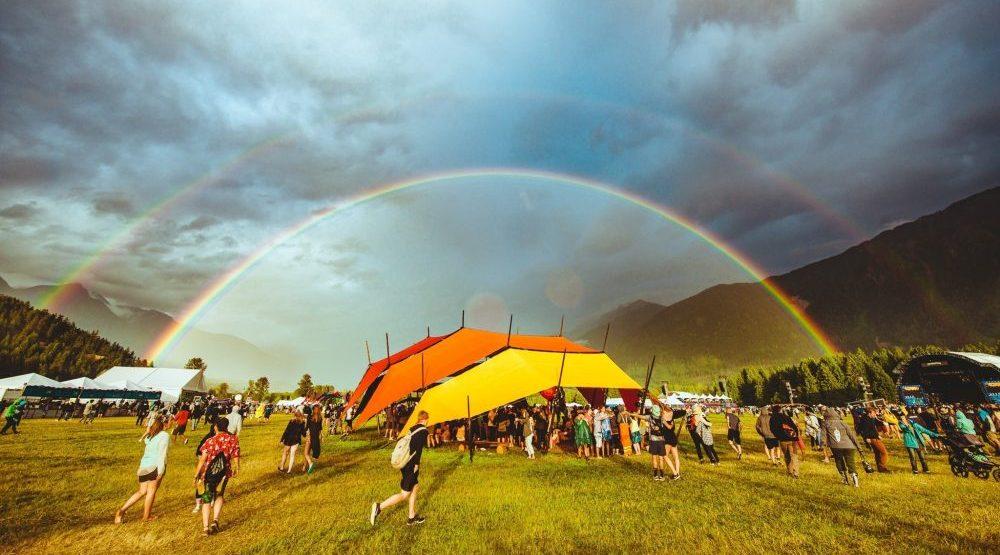 Double rainbow shines over Pemberton Music Festival (PHOTOS)