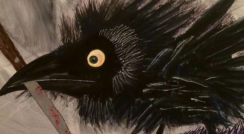 Canuck the Crow gets own art exhibition in Vancouver