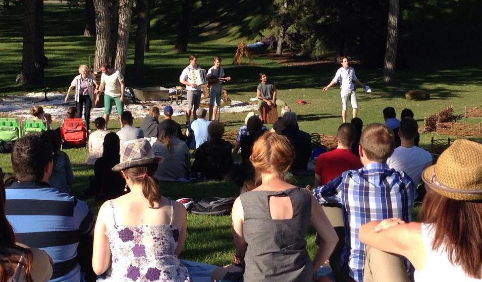 Hamlet: A Ghost Story at St. Patrick's Island