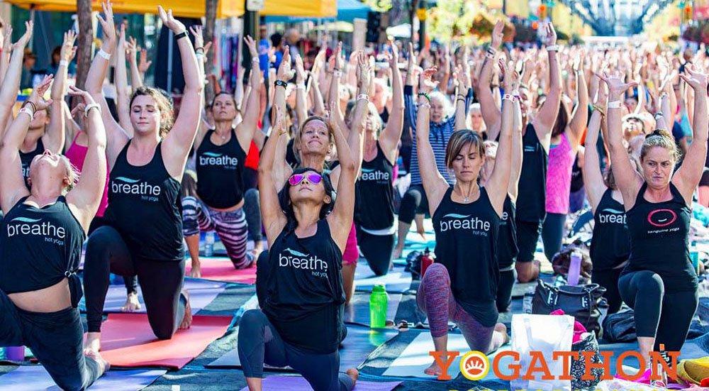 Yogathon calgary 2015 lead